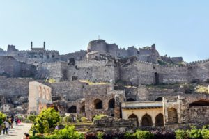 golconda fort hyderabad, free golconda fort photo,