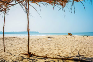 Goa beach Racks, cobode rama beach, beaches, goa beach, beaches of india,