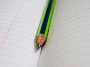 Pencil on book, green pencil, pencils, rule book, books, plain book, stationery, Pencil on book