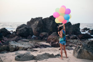 Girl with balloons on beach, beach, balloons, goa beach,free indian stock photos, free indian photos, indian photos, indian stock pictures, india photos, india pictures, india images, indian images, indian photography, free indian photos, free indian pictures, free photos, indian stock photography, free stock photography india, india stock photography, indian images