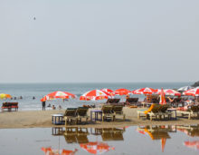 Goa beach shacks, download free indian travel and stock photos