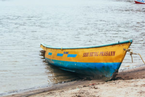 boat at beach, free indian travel and stock photos