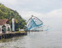chinese fishing nets kochi, download free indian stock photos