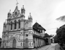 church in kerala, indian travel and stock photos