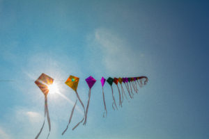 flying kites, free indian stock photos
