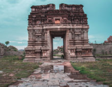 hampi temples complex, karnataka, free indian stock photos, indian travel photos