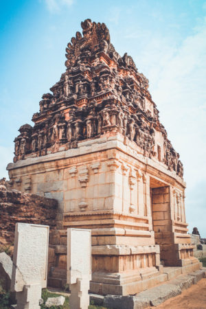 hampi temple complex, karnataka, free indian travel and stock photos