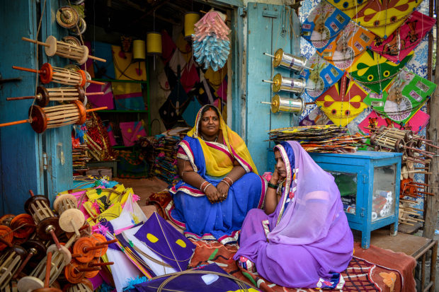 Kites shop in Hyderabad streets, free photos, free indian photos, free indian stock photos, india travel photos, indian images, free indian photos, free indian pictures, indian stock photography, indian travel images