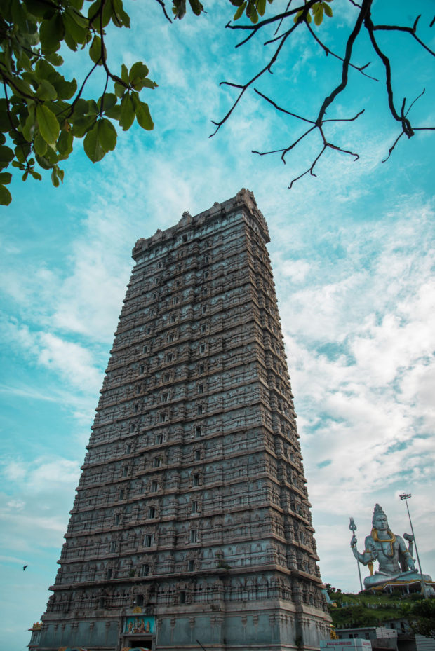 murudeshwara temple, free indian stock photos