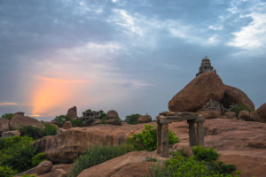 Sunrise at Hampi, free photos, free indian photos, free indian stock photos, india travel photos, indian images, free indian photos, free indian pictures, indian stock photography, indian travel images