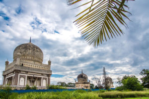 seven tombs hyderabad, indian travel and stock photos