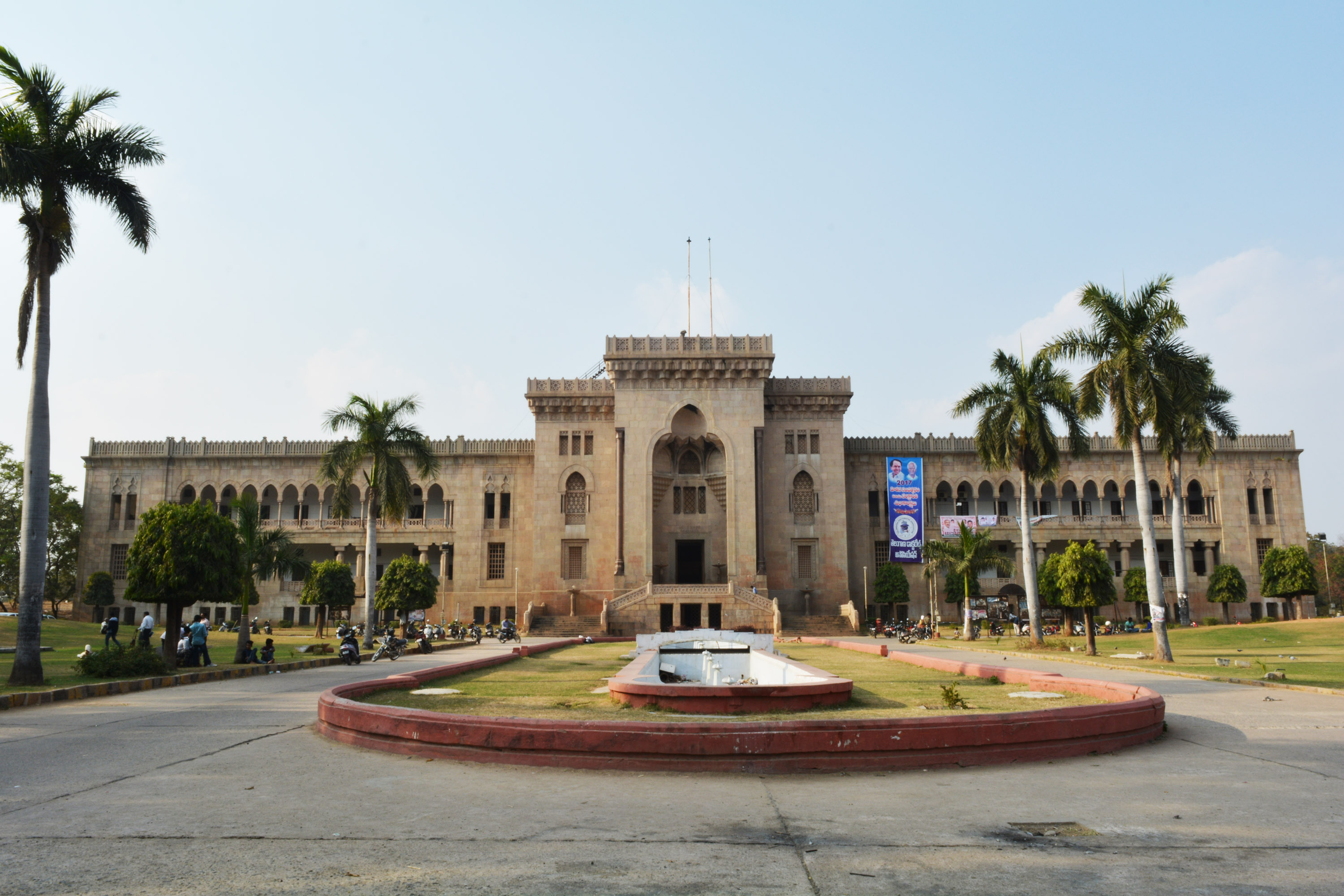 osmania college building, hyderabad, free photos