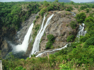 shiva samudram waterfalls, free indian travel and stock photos