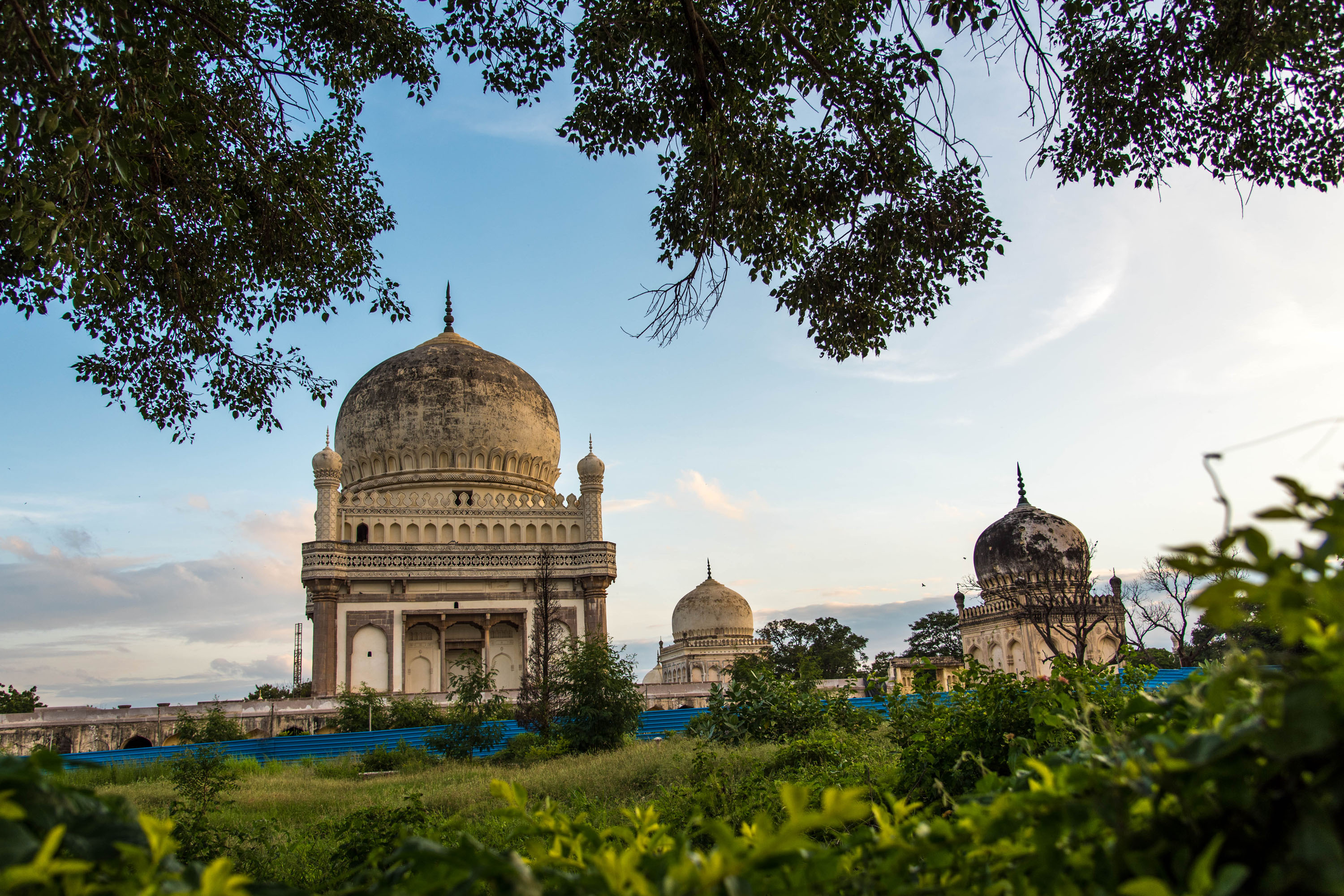 Seven tombs, Hyderabad,free indian travel and stock photos